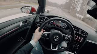2018 Volkswagen Golf GTI DSG MK7.5 POV Review [4K] by POVDRIVING