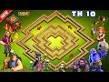 Best Th10 War Base 2018 Anti 3 Star With Replays Anti Bowler Anti Miner Anti Valkyrie