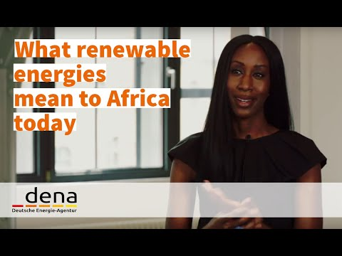 What do renewable energies mean to Africa today?