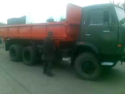 КАМАЗ 552915 Сельхозник (552900) Самосвальный автопоезд - YouTube