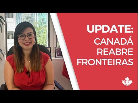 CANADÁ REABRE FRONTEIRAS