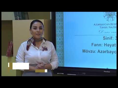 """""""Dərs vaxtı"""": 3-cü sinif dərsləri  (06.05.2021)"""