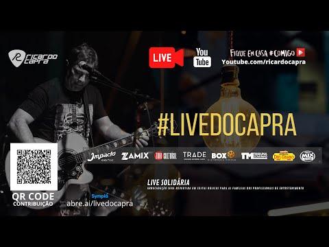 LIVE - RICARDO CAPRA   09/05   SÁBADO   Voz e Violão com Amigos   #FiqueEmCasa e Cante #Comigo