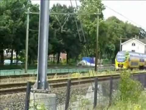 Station Op Wielen Houten.Het Oude Station Van Houten Op 4 Wielen Youtube