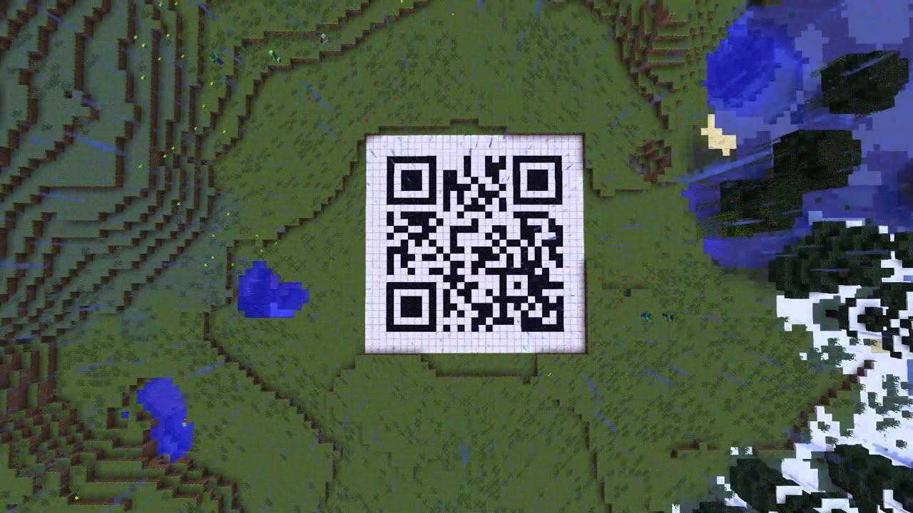 Minecraft QR Code Test