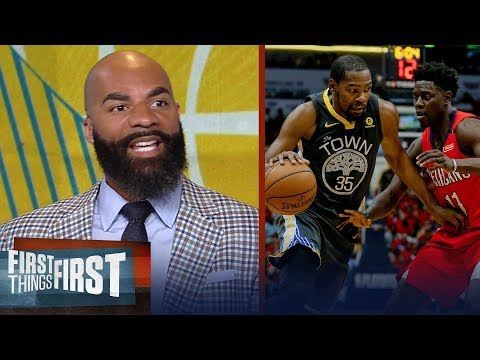 Carlos Boozer on the Warriors 'Death Lineup', LeBron's 2018 playoffs | NBA | FIRST THINGS FIRST