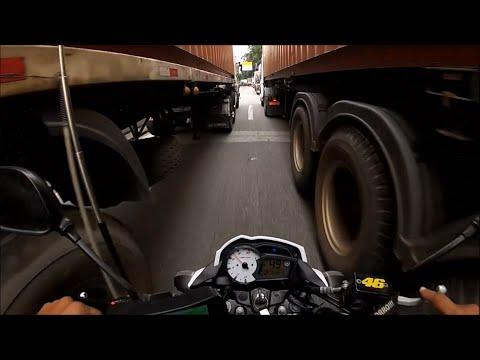 CORREDOR DE CAMINHÃO NA SERRA - MOTOBOY BOM - MOTOKAVLOG