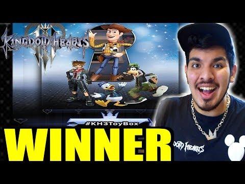 Kingdom Hearts 3 News: Toy Story Poster Won