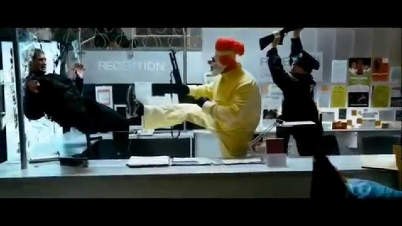 Ahmed Mobarez Frozen Heist Police vs Clowns frozen in time Carousel Full HD by Phillips + Making ;)