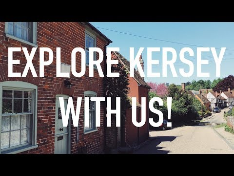 The Prettiest Village In Suffolk | Explore Kersey With Us