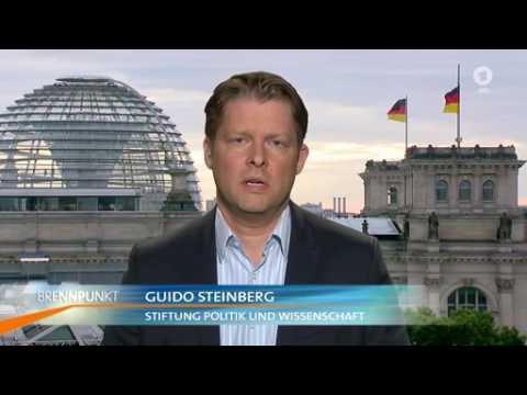 ARD - Brennpunkt Nach dem Terroranschlag von Nizza Moderation Ellen Ehni , WDR