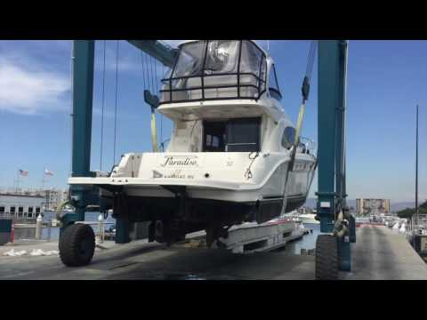 Come along on the Sea Ray 52 Sea Trial and Survey with Ian Van Tuyl at Cruising Yachts