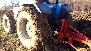 Landini 8550 Zimsko Oranje  (plowing)