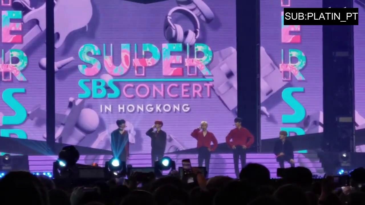 20190706 SBS SUPER CONCERT IN HK||Lời nhắn từ Ong Seong Woo. Lại Quán Lâm và Park JiHoon tới AB6IX - YouTube