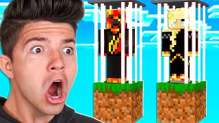 I Got TRAPPED in Skyblock Prison with My Wife!