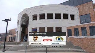 2018-03-09 - NCAA Women's Gymnastics - Bowling Green at Kent State