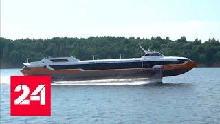 Возрождение легенды: в Нижнем Новгороде на воду спустили \