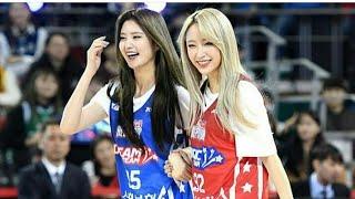 EXID HaJung Couple Basketball So Cute 😍😍👭