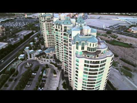One QueensRidge Place Helicopter Camera Las Vegas Aerial Video Production