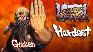 Ultra Street Fighter IV - Gouken Arcade Mode (HARDEST)