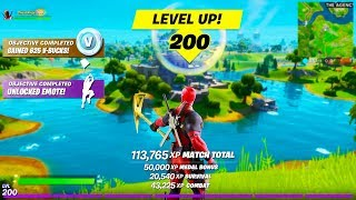I Unlocked LEVEL 200 in Fortnite.. This HAPPENED!!
