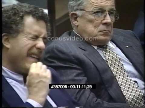 OJ Simpson Trial - June 27th, 1995 - Part 4 (Last part)