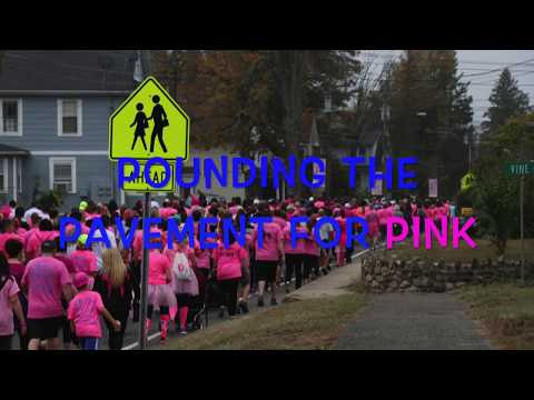 POUNDING THE PAVEMENT FOR PINK