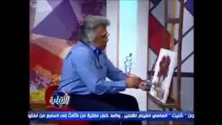 Draw red roses in oil colors with Taha Elkorany