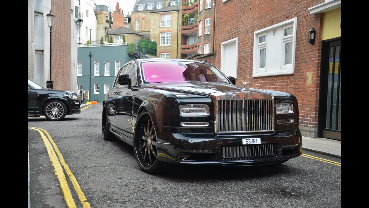 James Stunt And His Mansory Gang In London Youtube