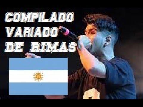 COMPILADO VARIADO de RIMAS ARGENTINAS!