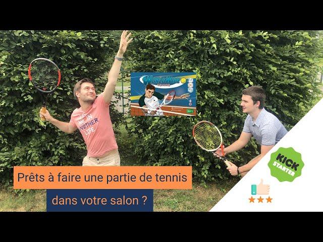 Worldwide Tennis : Un très bon nouveau jeu de société sur le SPORT ! Review KS #1
