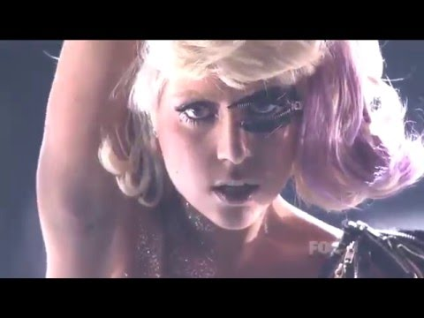 Lady Gaga Poker Face Live at American Idol HD