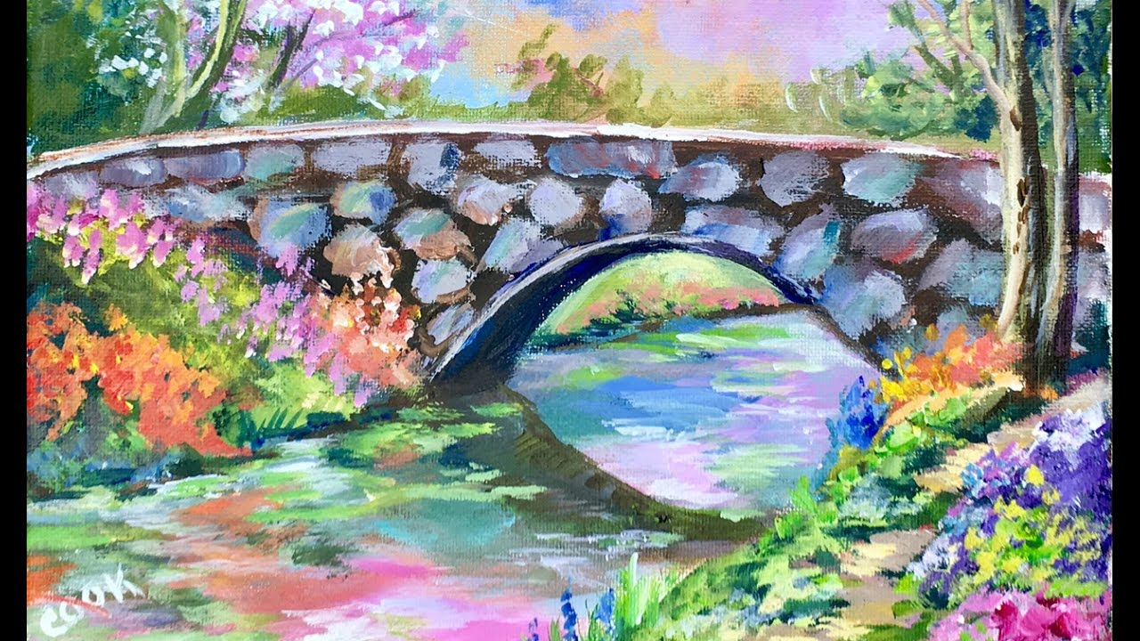 How To Paint A Heavenly Bridge With Ginger Cook For The