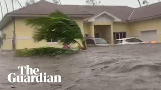 Hurricane Dorian batters Bahamas with severe flash floods and ferocious wind