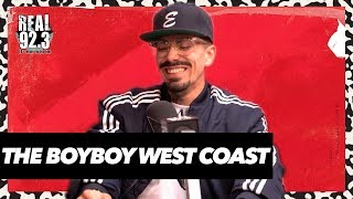 The Boyboy West Coast talks Perfect Eyebrows,  Coming out For Diplo, New Fame | Bootleg Kev & DJ Hed