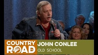 """John Conlee sings """"Old School"""" on Country's Family Reunion"""