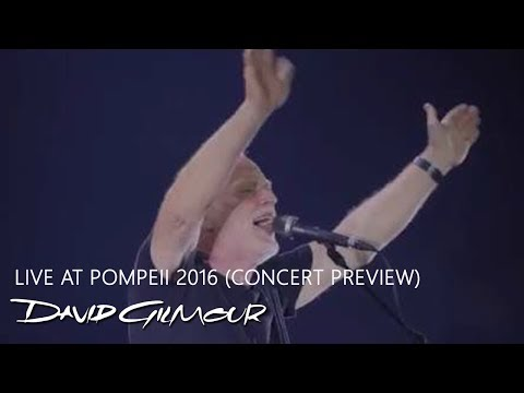 David Gilmour - Live at Pompeii 2016...