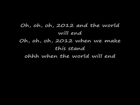 Mike Candys - 2012 If the World would end Lyrics