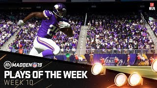 Madden 19 - Plays of the Week 10