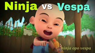Ninja Opo Vespa - Nella Kharisma Terbaru Parody Upin dan Ipin