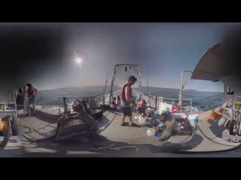 360 UConn Marine Science Boat Expedition