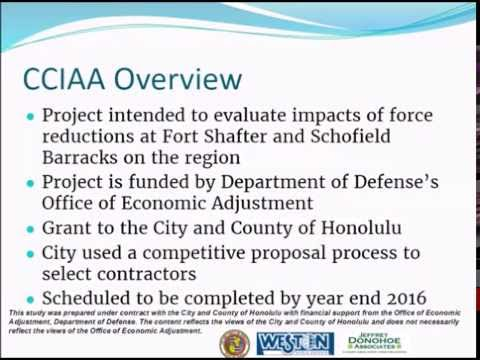 City and County of Honolulu Comprehensive Community Impact Analysis/Assessment