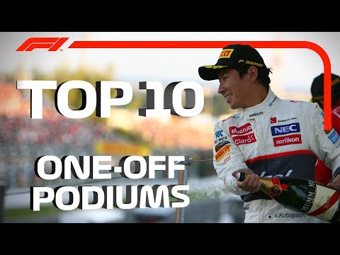 Top 10 One-Off Podiums in F1
