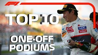 Top 10 One-Off Podiums
