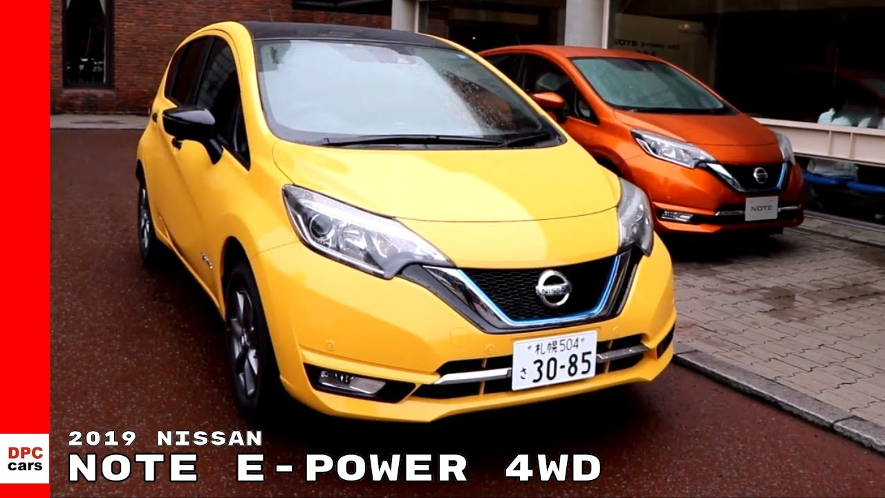 2019 Nissan Note e-POWER 4WD - YouTube