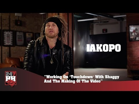 """Iakopo - Working On """"Touchdown"""" With Shaggy And The Making Of The Video (247HH Exclusive)"""