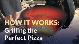 Grilling Pizza, a Heat Transfer Problem