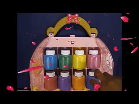 Play Doh Rose Pedals Disney Princess Ariel Snow White Belle Cinderella Merida Rapunzel /Learn Colors
