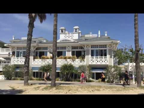 Santa Monica beach view restaurants