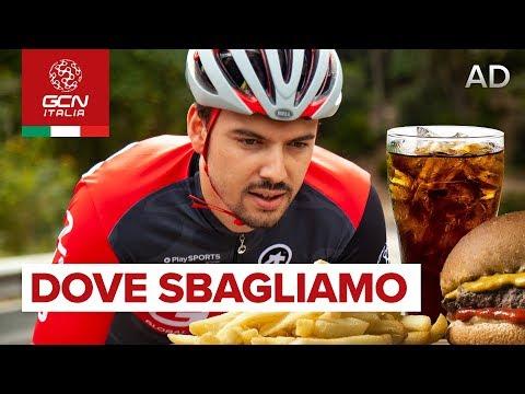Alimentazione e Ciclismo - 5 errori da evitare